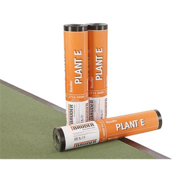 Bauder PLANT E Schiefer/Folie   Abm.: 5 m x 1,0 m (5 m²/Rolle)   24 Rollen/Palette