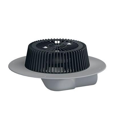 SOPREMA Power-Dachablauf | waagerecht | PVC | DN 70