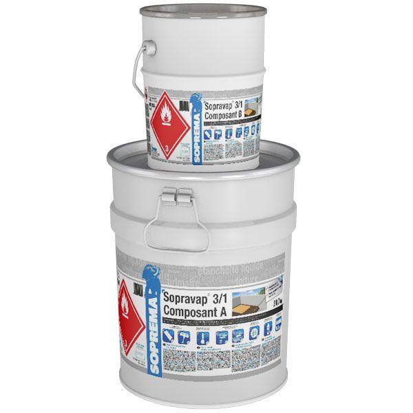 SOPRAVAP 3/1 Voranstrich/Dampfbremse | 25 kg/Gebinde | 20 Gebinde/Palette