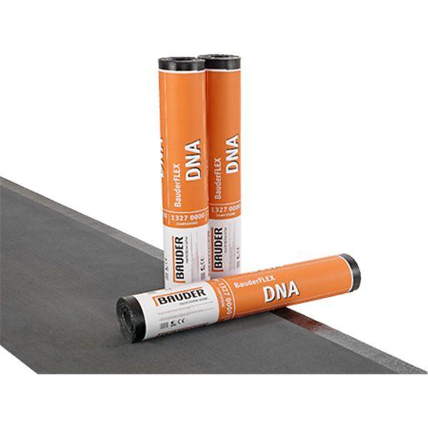 Bauder FLEX DNA Feinbestreut/Folie | Abm.: 5 m x 1,0 m (5 m²/Rolle) | 30 Rollen/Palette