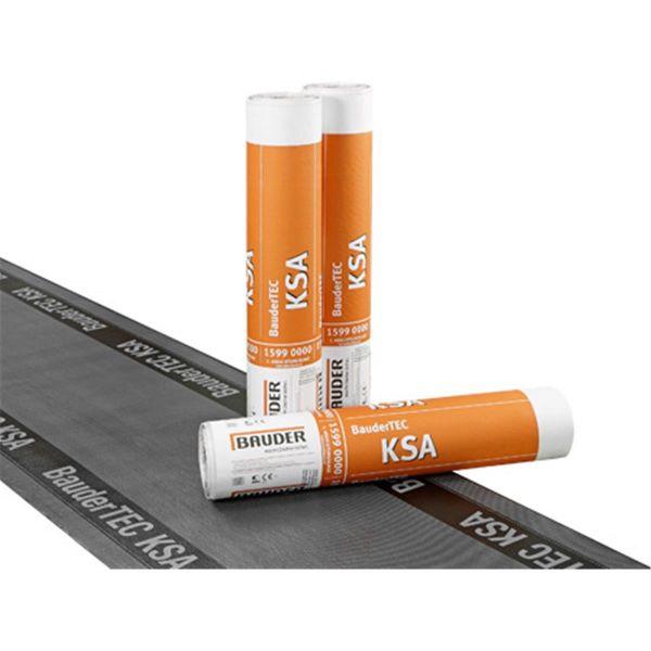 Bauder KSA Folie/Abziehfolie | Abm.: 10 m x 1,0 m (10 m²/Rolle) | 20 Rollen/Palette