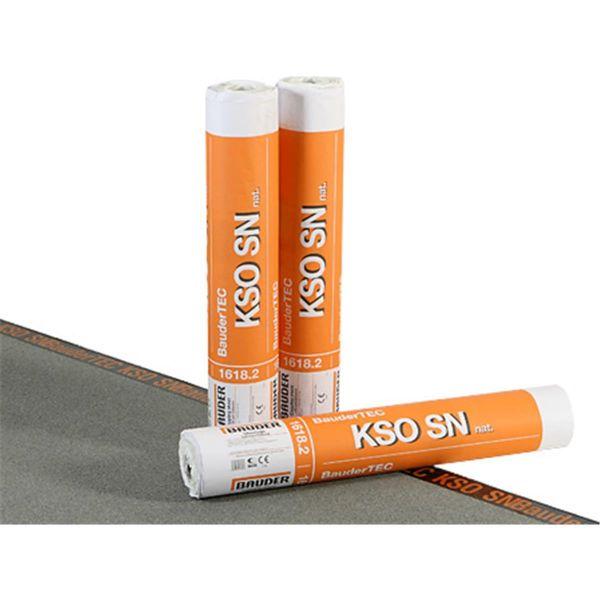 Bauder TEC KSO SN Schiefer/Folie | Abm.: 5 m x 1,0 m (5 m²/Rolle) | 28 Rollen/Palette
