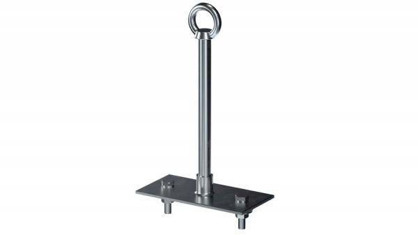 Breuer Primo 2 ST | zum Aufschrauben auf Stahl mit Platte 100 x 200 mm