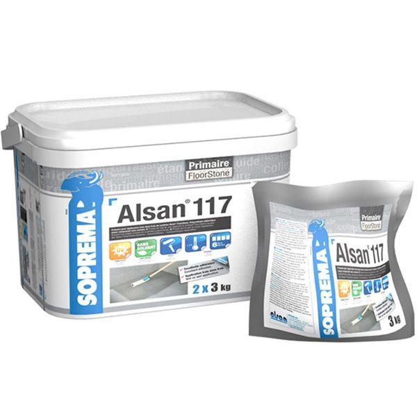 ALSAN 117 | einkomponentige lösemittelfreie Grundierung auf PU-Basis | 2 x 3kg