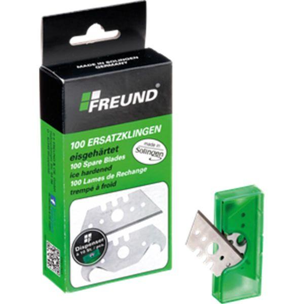 Freund® Trapezklingen | made in Solingen | 100 Stück / Paket