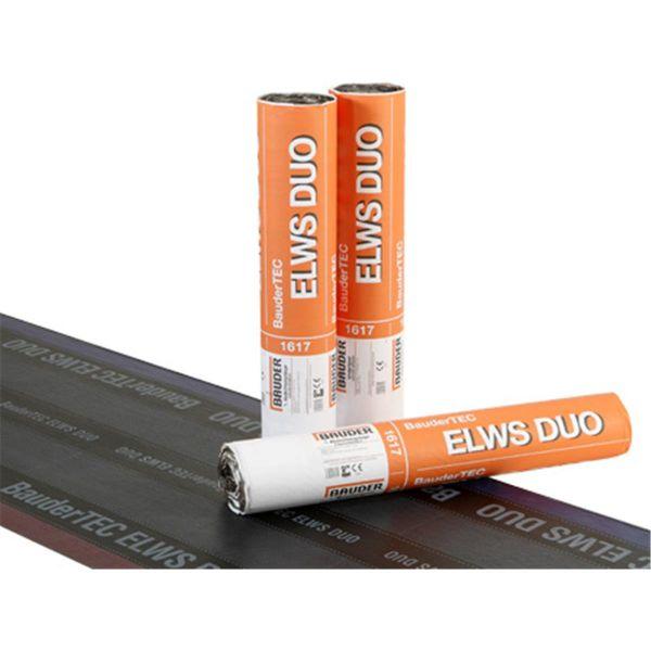 Bauder ELWS DUO Folie/Abziehfolie   Abm.: 7,5 m x 1,0 m (7,5 m²/Rolle)   24 Rollen/Palette