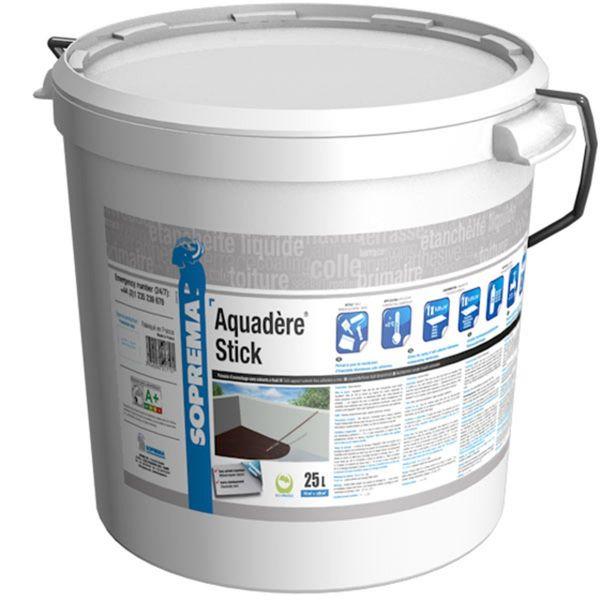 SOPREMA AQUADERE Stick | Elastomerbitumen-Emulsion | lösemittelfrei | 25 l / Gebinde