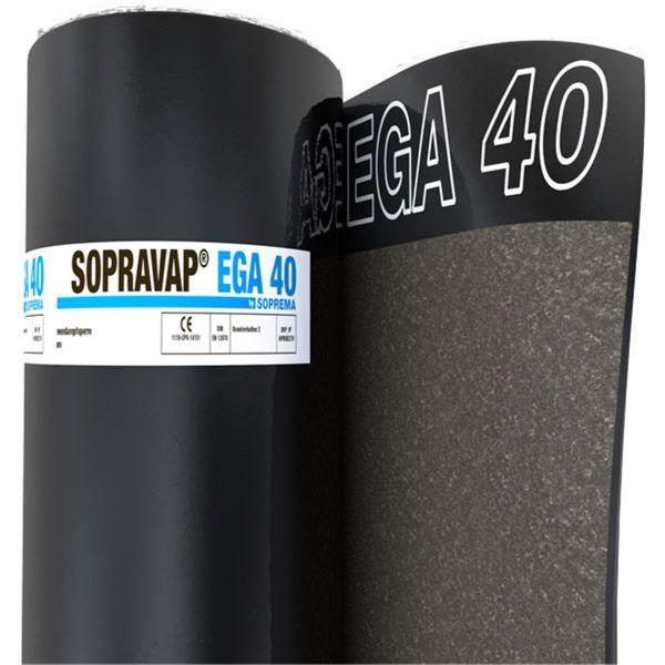 SOPRAVAP EGA 40 Sand/Folie | Abm.: 5 m x 1,0 m (5,0 m²/Rolle) | 30 Rollen/Palette